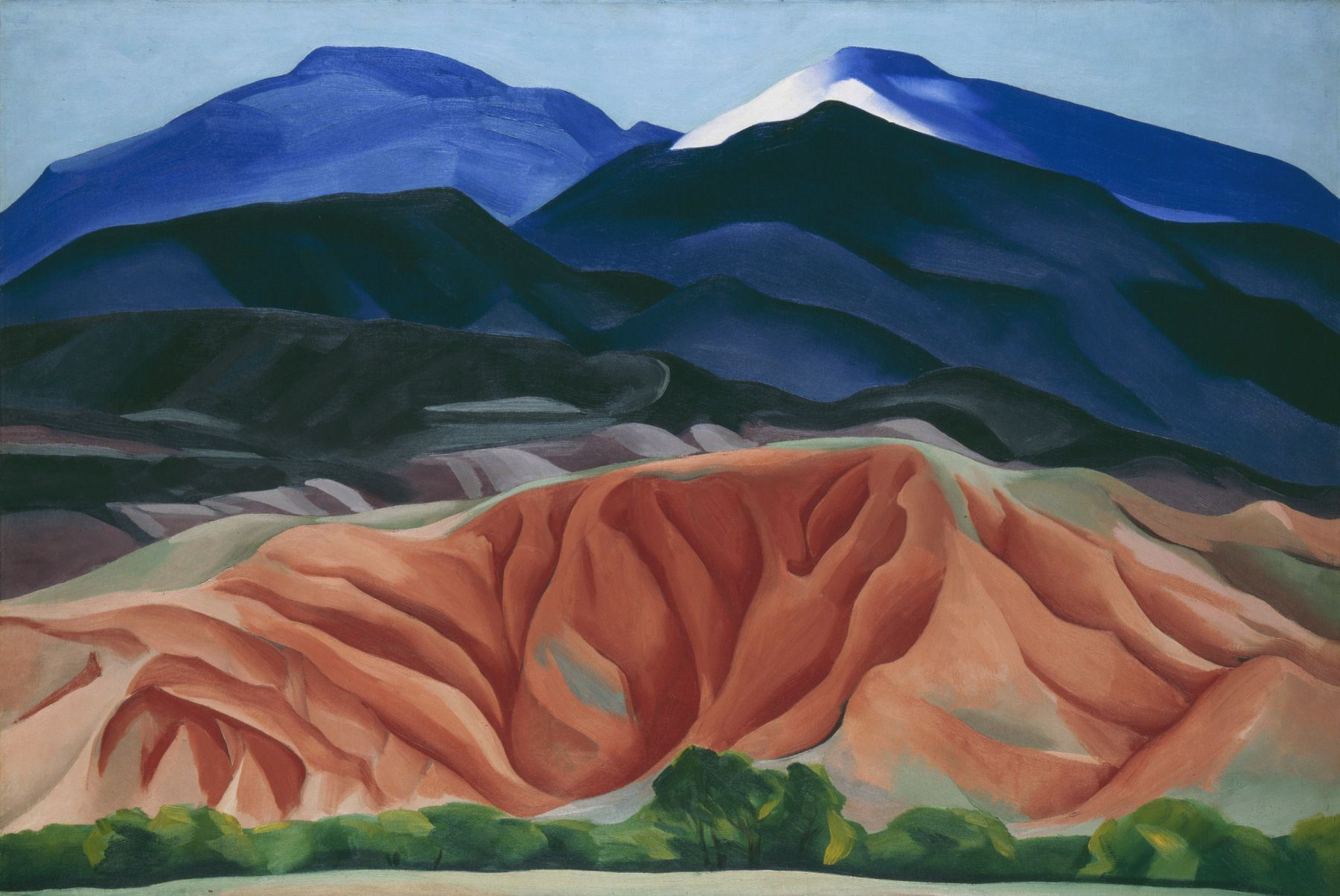 a biography of georgia okeeffe Georgia o'keeffe, famous for her sensual paintings of magnified flowers, and inspired by the bewitching southwestern american landscape, is among.